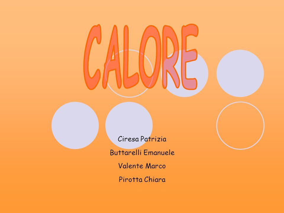 Il CALORE è energia in transito: fluisce sempre dai punti a temperatura maggiore a quelli a temperatura minore, finché non si raggiunge l equilibrio termico.