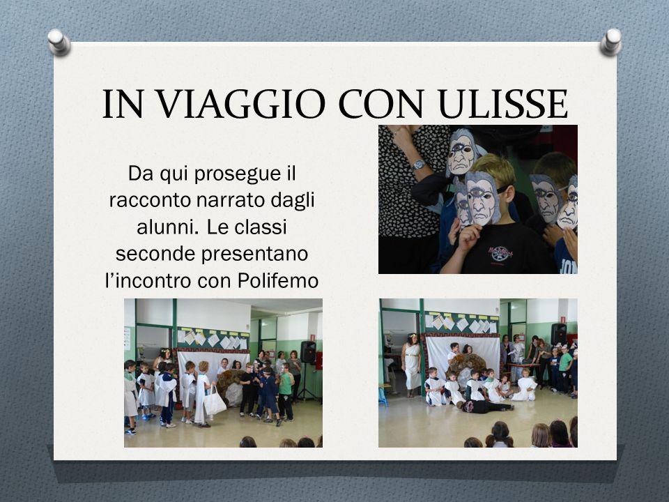 IN VIAGGIO CON ULISSE Da qui prosegue il racconto narrato dagli alunni.