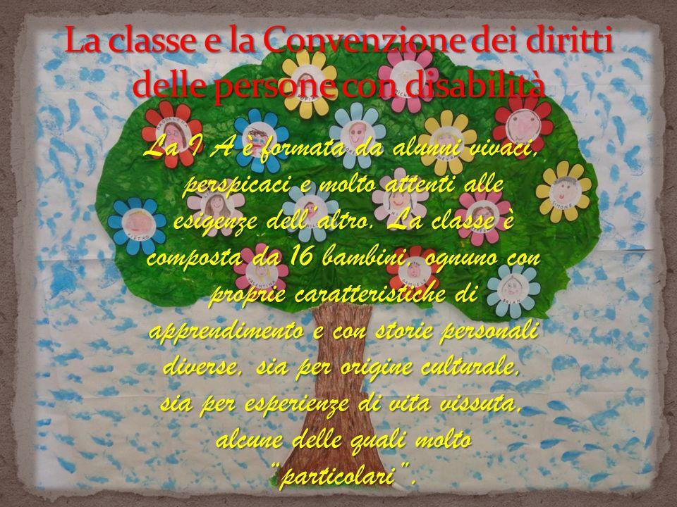 Dopo aver effettuato il percorso legato ai saperi disciplinari decidiamo che anche la 1 A di Castrocaro Terme vuole lanciare il suo messaggio per provare a dare un esempio di Buona prassi di inclusione sociale.