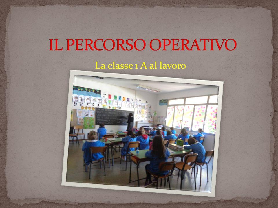 La classe 1 A al lavoro