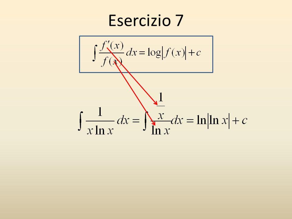Esercizio 7