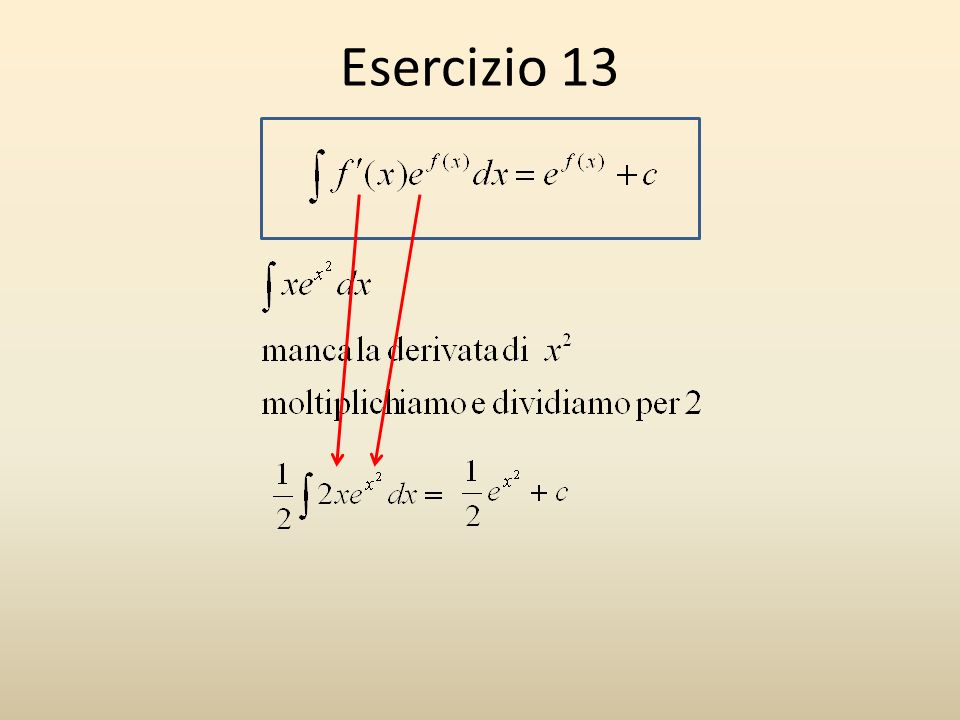 Esercizio 13