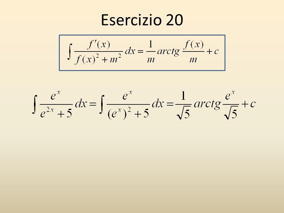 Esercizio 20