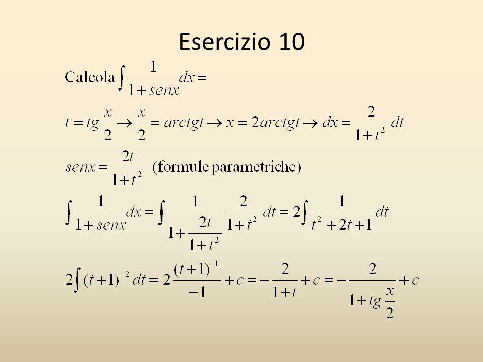 Esercizio 10