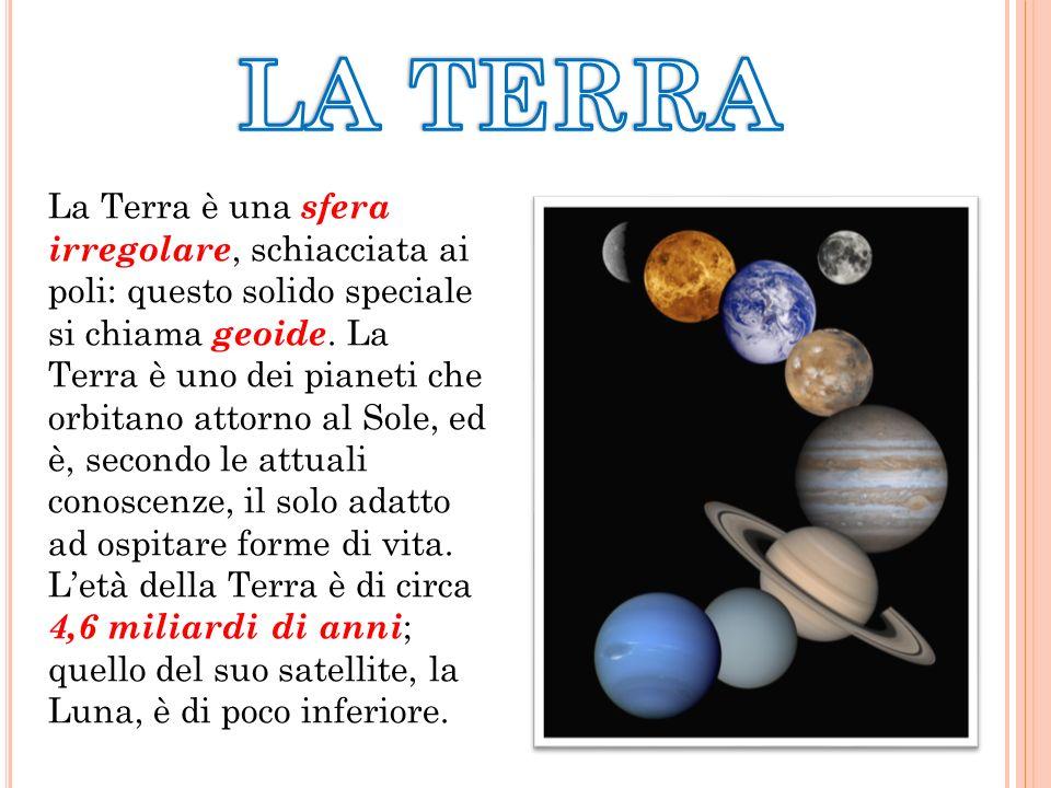La Terra è una sfera irregolare, schiacciata ai poli: questo solido speciale si chiama geoide.