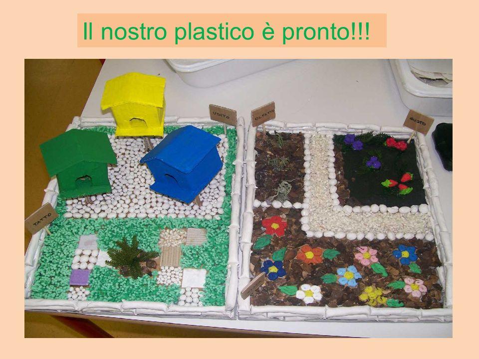 Il nostro plastico è pronto!!!
