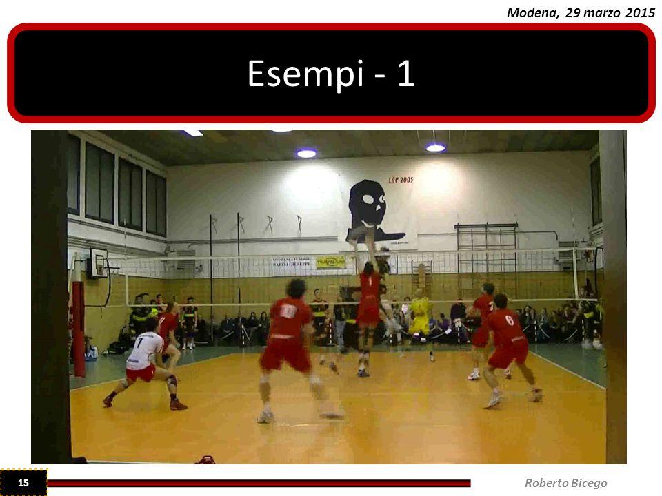 Modena, 29 marzo 2015 Esempi - 1 Roberto Bicego 15