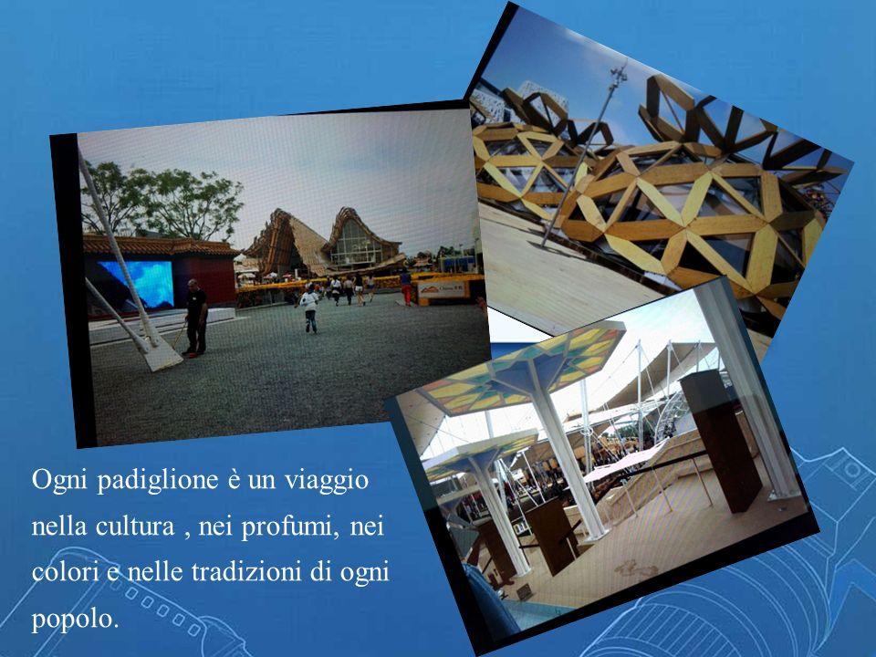 Ogni padiglione è un viaggio nella cultura, nei profumi, nei colori e nelle tradizioni di ogni popolo.