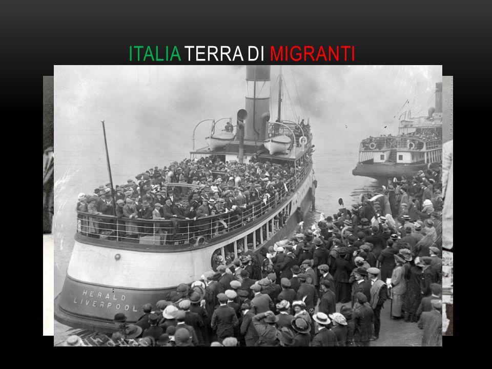 ITALIA TERRA DI MIGRANTI