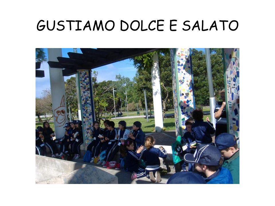 GUSTIAMO DOLCE E SALATO