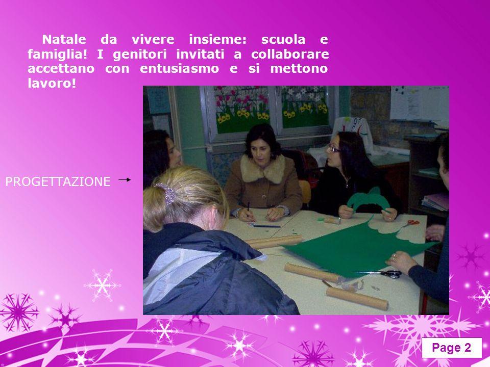 Page 2 Natale da vivere insieme: scuola e famiglia.