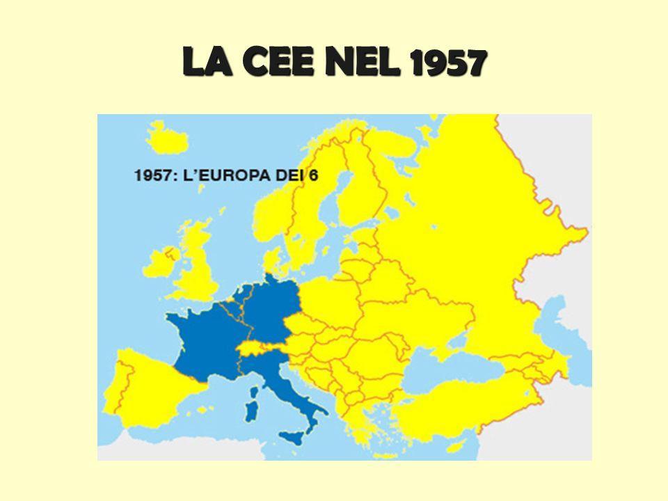 LA CEE NEL 1957