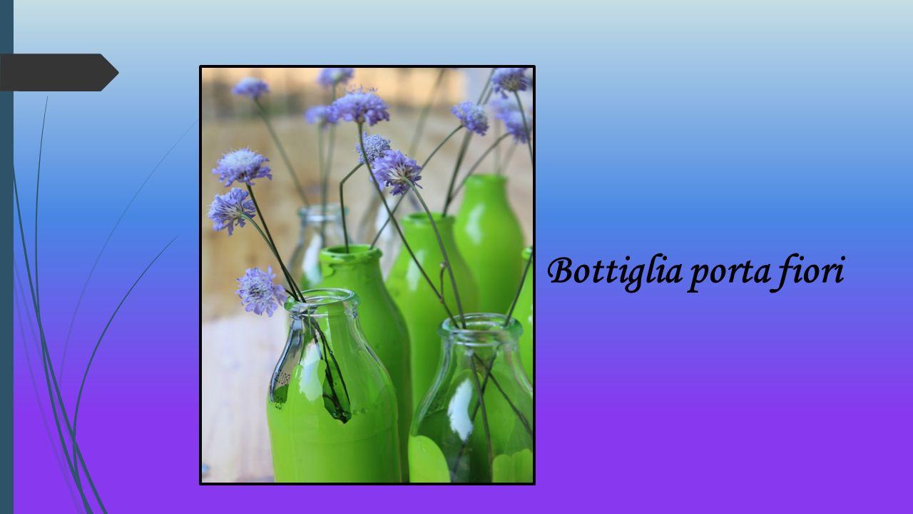 Bottiglia porta fiori