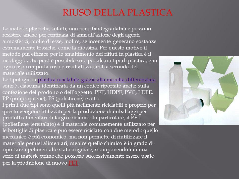 La plastica Presentato da VALENTINA MIRABELLA NOEMI SALADINO GIORGIA MATTERAZZO ANDREA MARGAGLIANO MARIA CLAPON