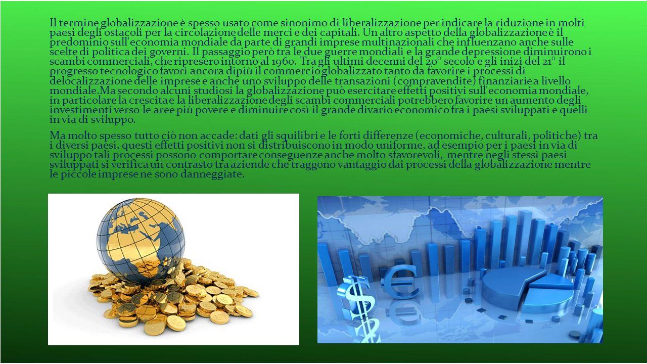 La globalizzazione riguarda anche la produzione delle idee.