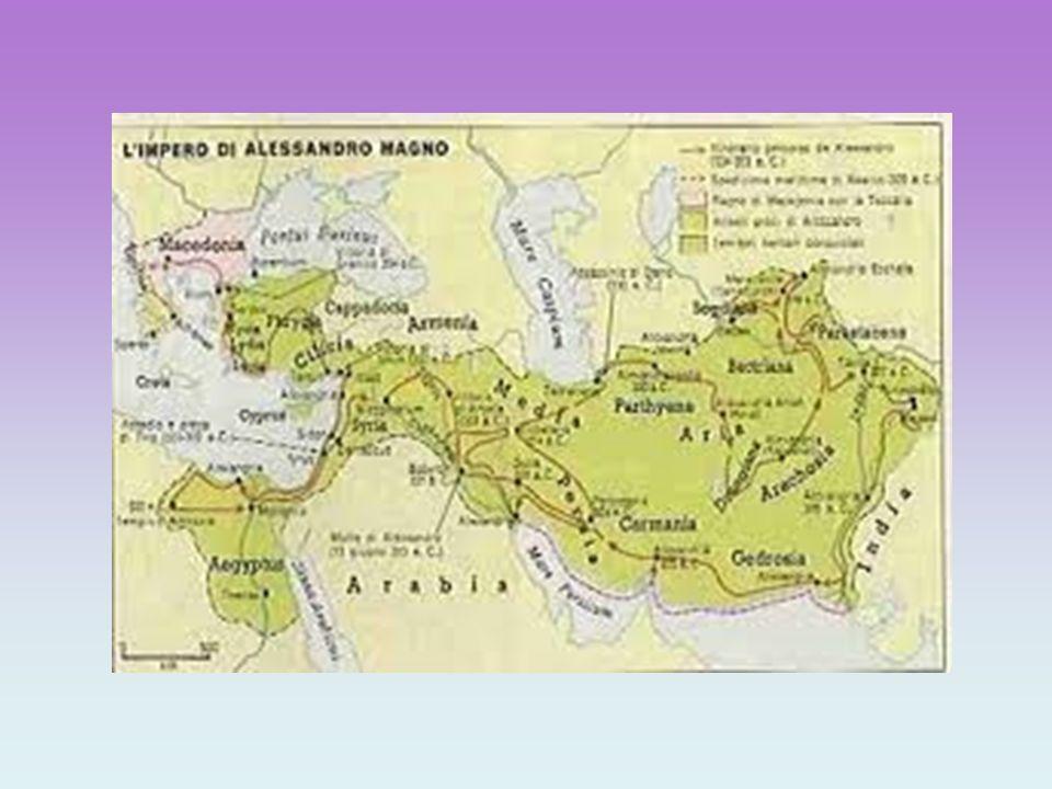Alessandro era riuscito a riunire le civiltà dell'antico Oriente, che fino ad allora avevano dominato la storia, con la recente civiltà greca che, attraverso le colonie, si era diffusa in tutto il Mediterraneo.