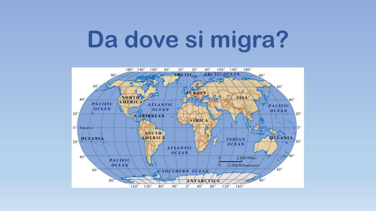 Da dove si migra