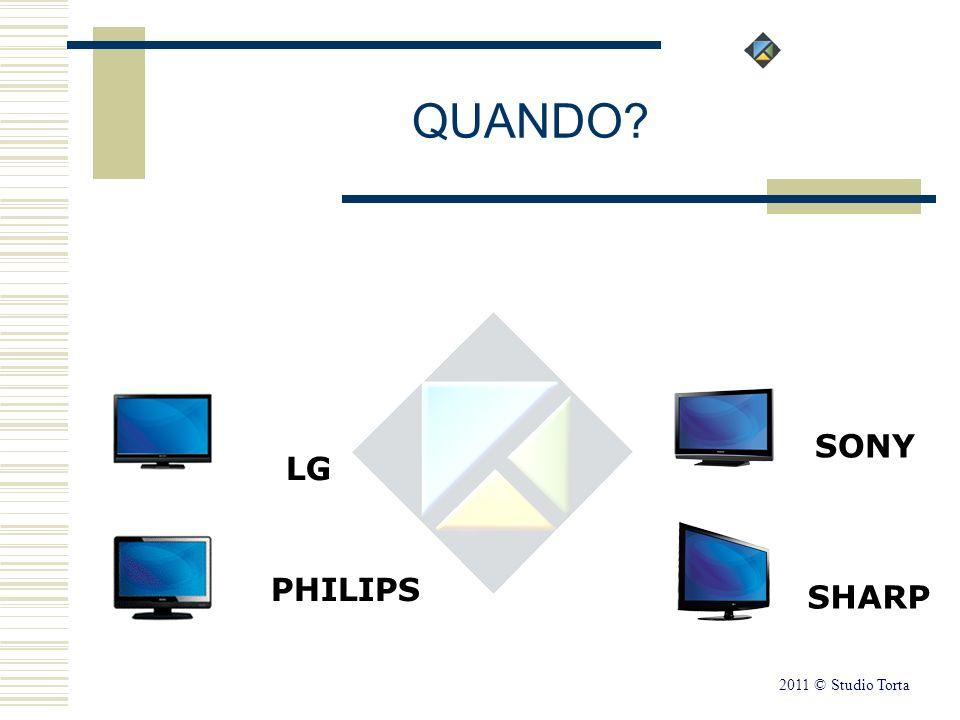 LG PHILIPS SONY SHARP QUANDO? 2011 © Studio Torta