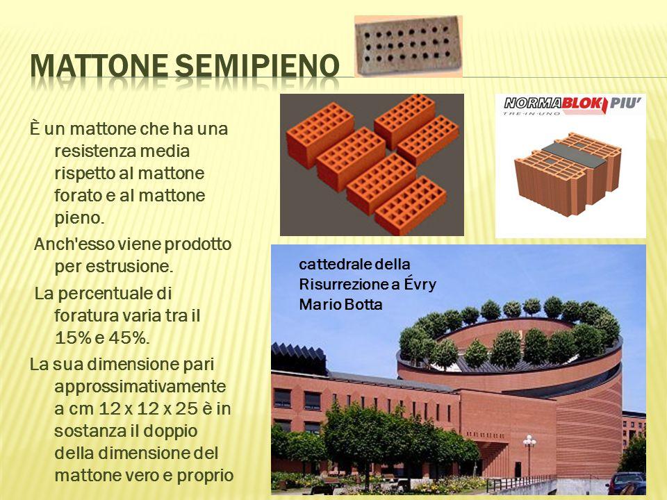 Tavella È un elemento laterizio piano, le cui dimensioni sono all incirca 40-60x25x3cm Pignatte Elemento laterizio pieno di forma rettangolare annegato in un conglomerato (in genere cementizio, come il calcestruzzo) che ha il solo scopo di alleggerire la struttura Tavellone È un mattone forato, caratterizzato da una particolare forma lunga e sottile, le cui dimensioni sono all incirca 100-160x25x6- 8cm