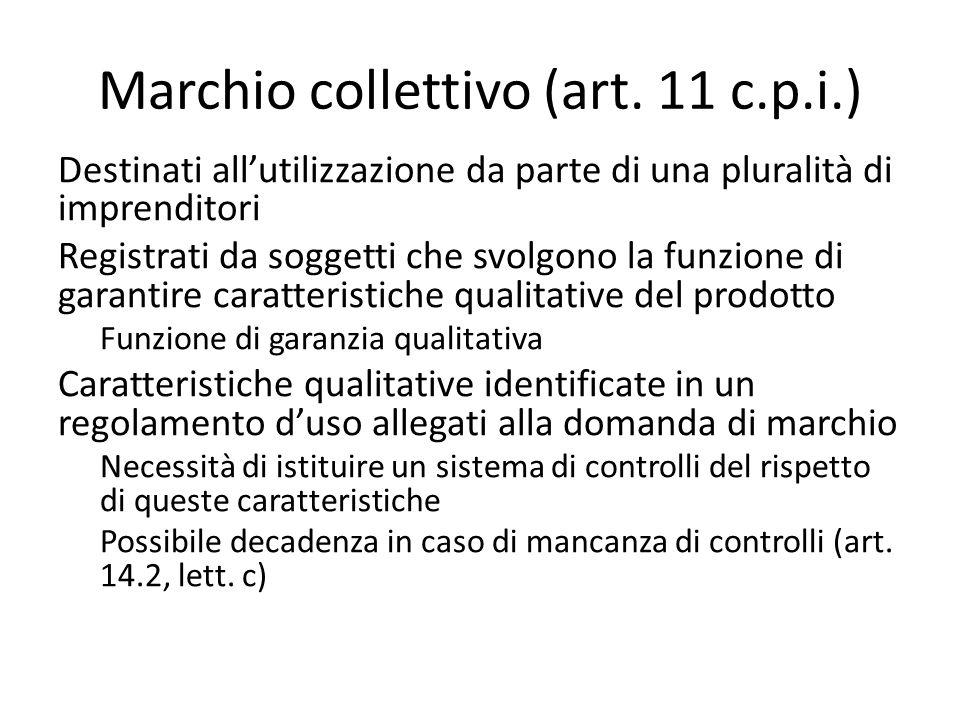 Marchio collettivo (art.
