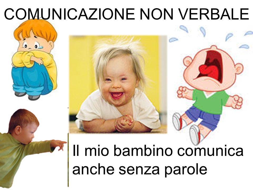 Il mio bambino comunica anche senza parole COMUNICAZIONE NON VERBALE