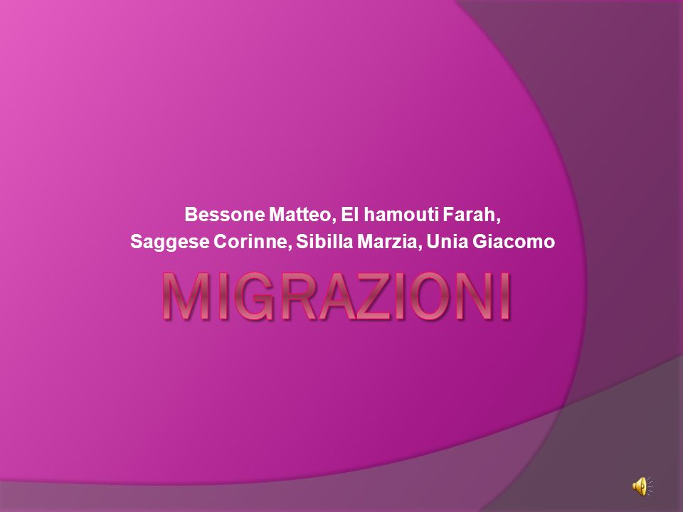 L Italia è stata interessata dal fenomeno dell emigrazione soprattutto nei secoli XIX e XX.