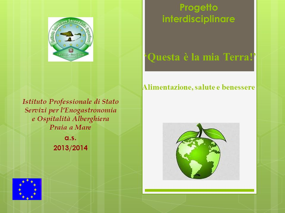 Istituto Professionale di Stato Servizi per l'Enogastronomia e Ospitalità Alberghiera Praia a Mare a.s.