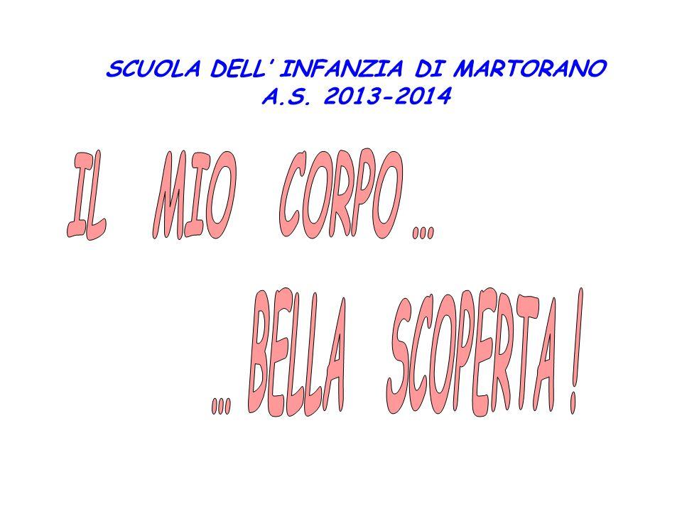 SCUOLA DELL' INFANZIA DI MARTORANO A.S. 2013-2014