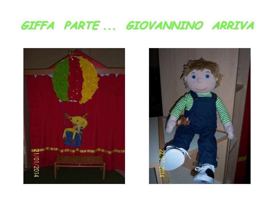 GIFFA PARTE... GIOVANNINO ARRIVA