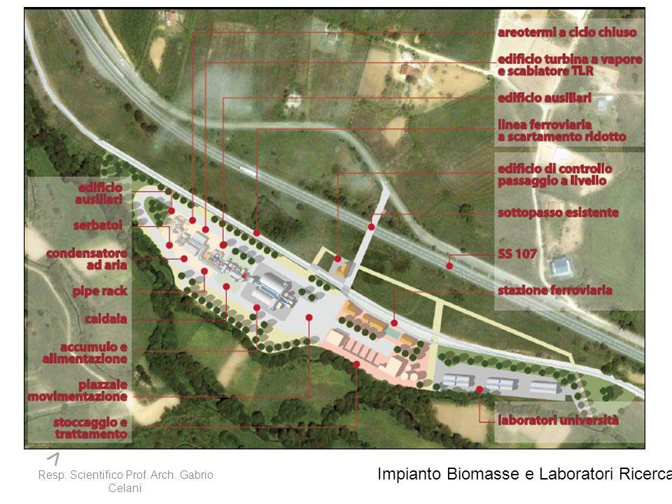 > > Impianto Biomasse e Laboratori Ricerca
