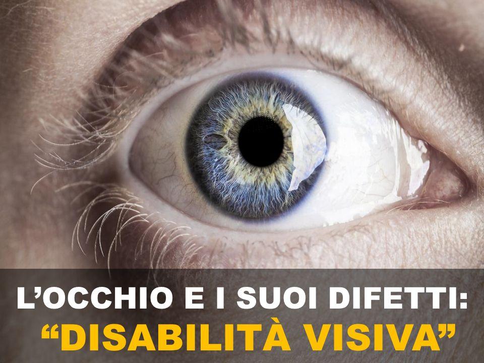 L'OCCHIO E I SUOI DIFETTI: DISABILITÀ VISIVA