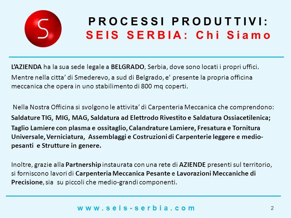 Centri di lavoro 3,4 e 5 Assi Dimensioni 1400x1250x1000 precisione 0,01 mm Rettifica in piano Dimensioni 1500x750x570 PROCESSI PRODUTTIVI: Lavorazioni di Precisione (0,01mm) 13 www.seis-serbia.com