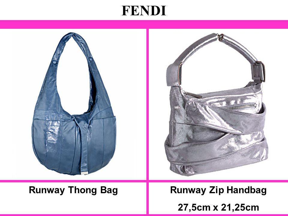 Runway Thong Bag FENDI Runway Zip Handbag 27,5cm x 21,25cm