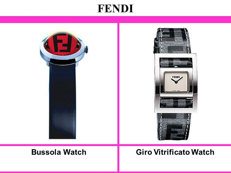 Bussola Watch FENDI Giro Vitrificato Watch