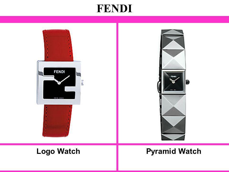 Logo Watch FENDI Pyramid Watch