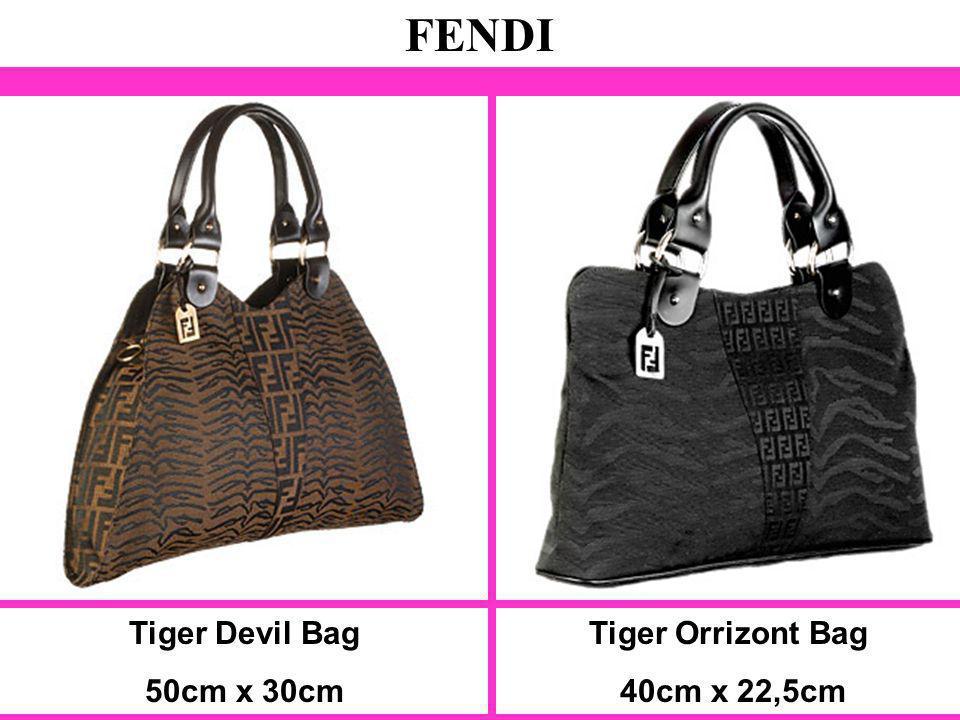 Tiger Devil Bag 50cm x 30cm FENDI Tiger Orrizont Bag 40cm x 22,5cm