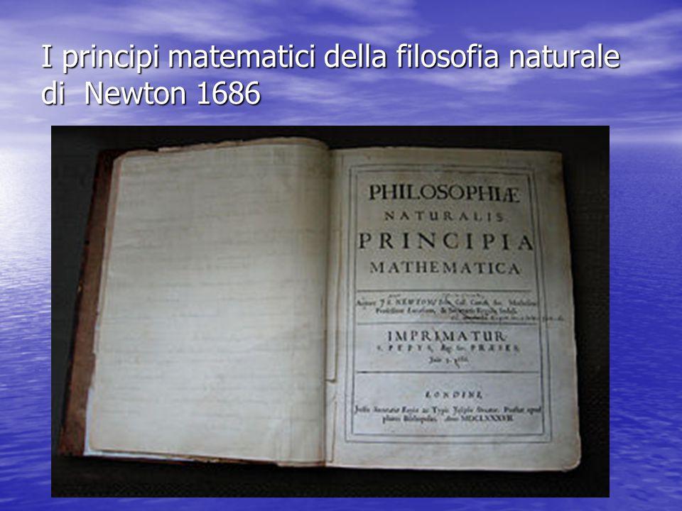 I principi della dinamica di Newton Se la somma delle forze agenti su un corpo è nulla, esso permane nel suo stato di quiete o di moto rettilineo uniforme.