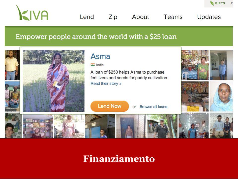 www.collaboriamo.org Finanziamento