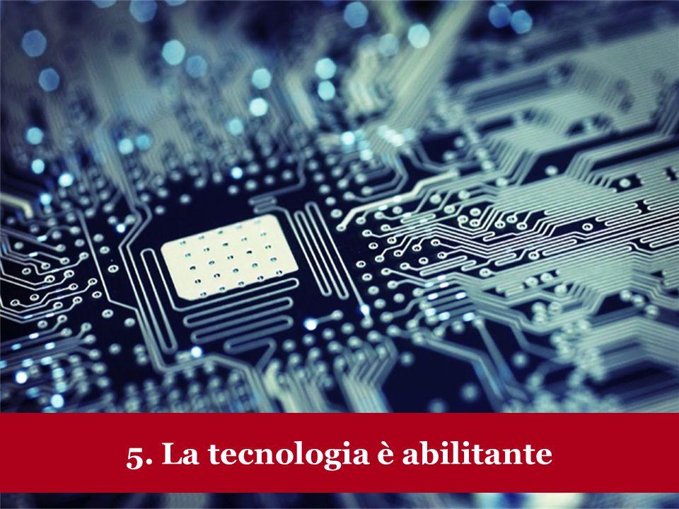 www.collaboriamo.org 5. La tecnologia è abilitante
