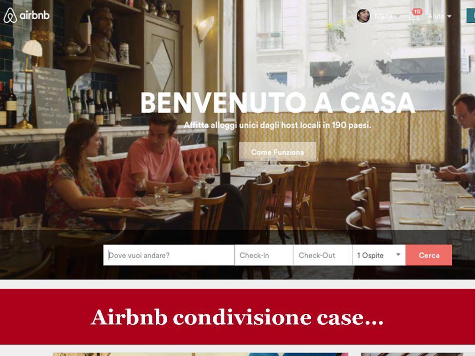 Airbnb condivisione case…
