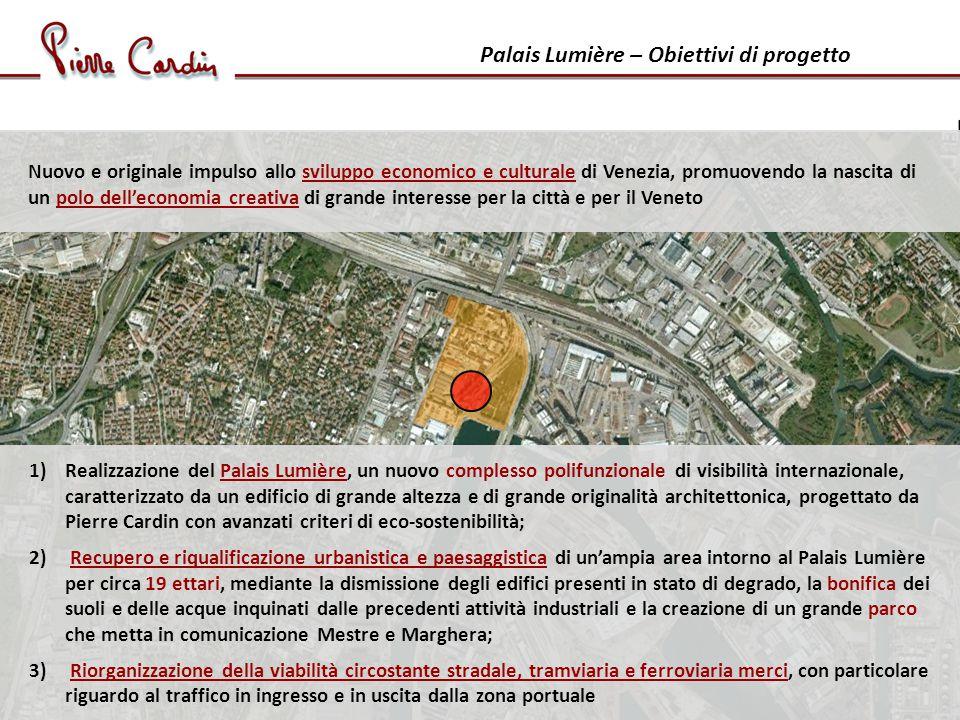 Palais Lumière – A che punto è il progetto dicembre 2010 consegna del primo studio di fattibilità (Regione del Veneto, Prot.