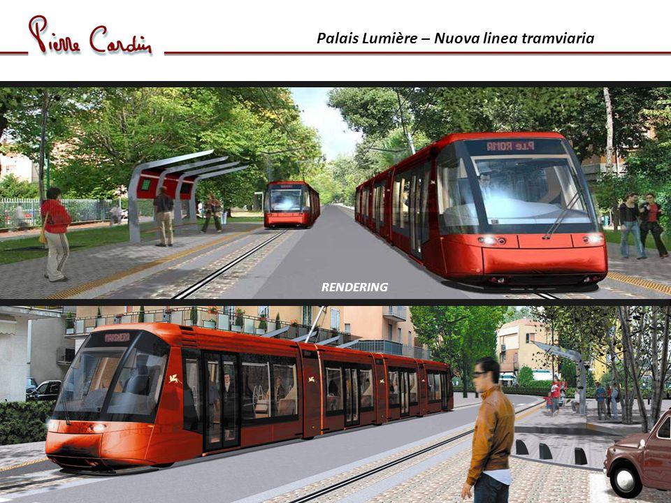 Palais Lumière – Nuova linea tramviaria RENDERING