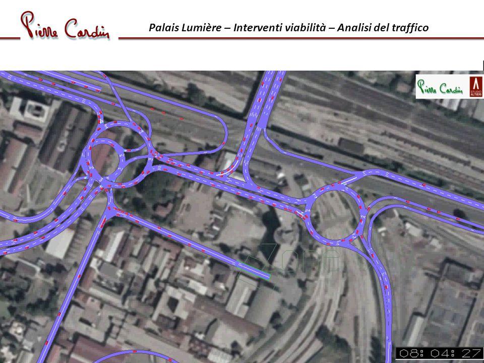 Palais Lumière – Interventi viabilità – Analisi del traffico