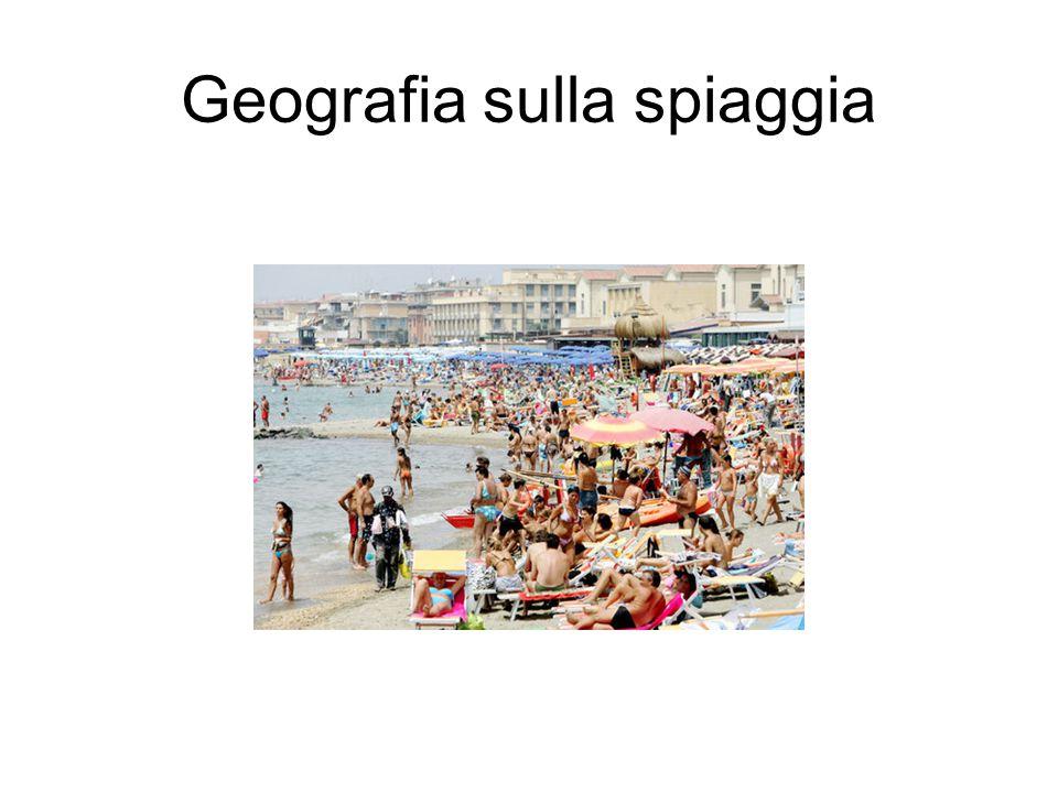 Geografia sulla spiaggia