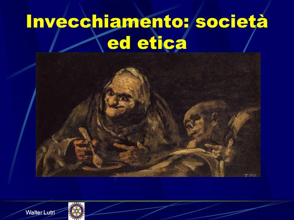 Walter Lutri Anziani e società (4) Principio della autonomia e della dignità delle persone Principiò di beneficità Principio di non maleficità Principio di giustizia Principio di solidarietà Principio di sussidiarietà Principio di verità Principio di riservatezza