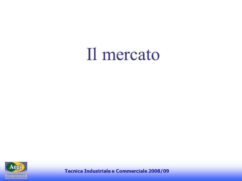 Il mercato Tecnica Industriale e Commerciale 2008/09
