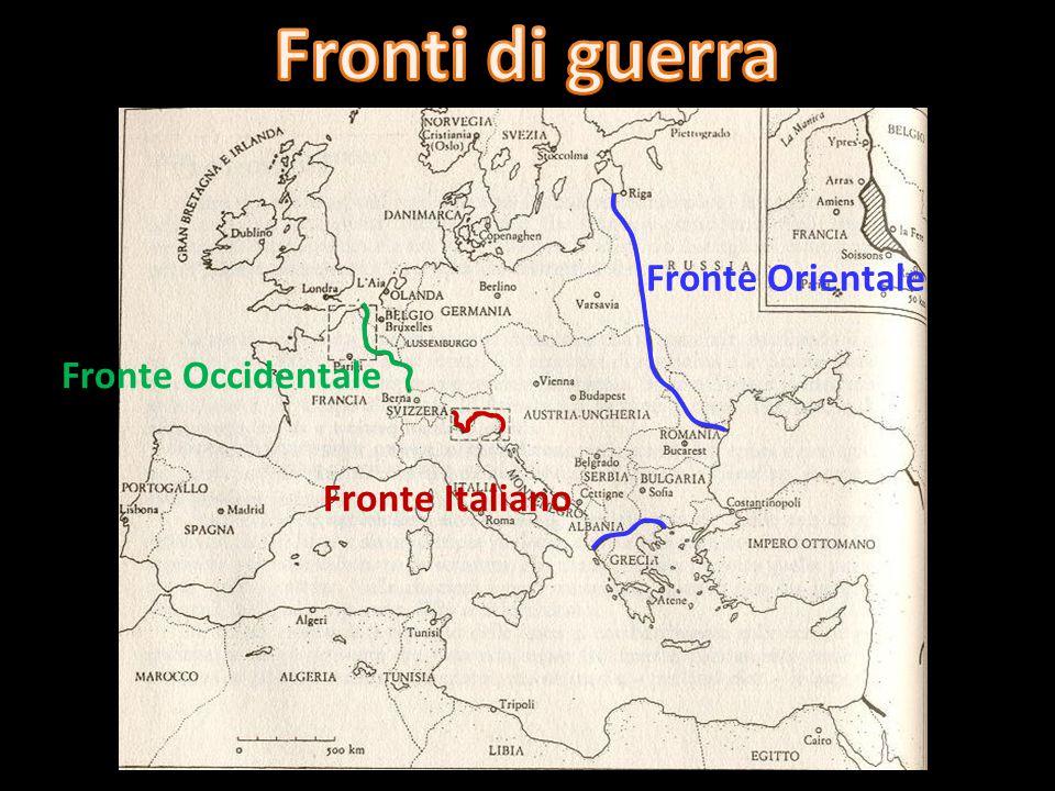 3 agosto 1914 Dichiarazione di neutralità Obiettivo: annessione di Trentino, Alto Adige, Trieste, Venezia - Giulia, Dalmazia, Istria Italia 26 aprile