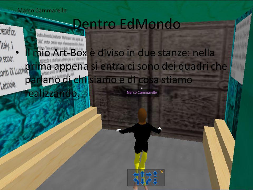 Dentro EdMondo Nella seconda stanza invece ho posto al centro della sala proprio il busto di Giustino Fortunato e alle pareti dei quadri sempre di Giustino Fortunato, le cartine della Basilicata e anche un quadro del palazzo Giustino Fortunato.