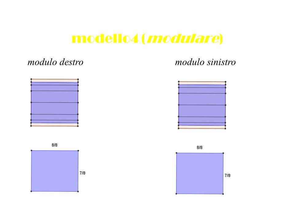 modello4 (modulare) modulo destromodulo sinistro