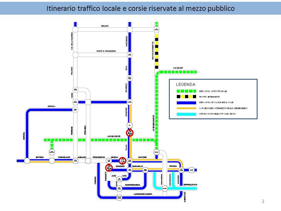 4 Via Bruno Buozzi – tratto compreso tra Via Lattanzi e Piazza Di Negro (6.00/24.00) Via A.